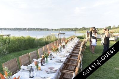 sarah long in Cointreau & Guest of A Guest Host A Summer Soiree At The Crows Nest in Montauk
