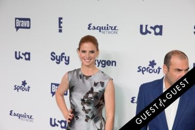 sarah rafferty in NBCUniversal Cable Entertainment Upfront