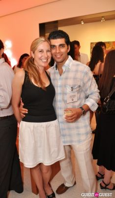 alon hoshmand in AFTAM Young Patron's Rooftop SOIREE
