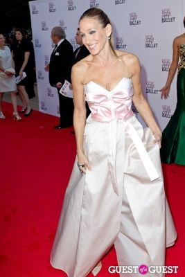 sarar jessica-parker in New York City Ballet's Fall Gala