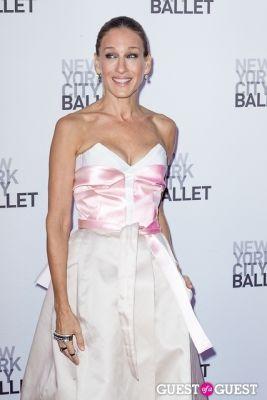 sarar jessica-parker in New York City Ballet's Fall Gala