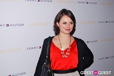 sasha cohen in LIKE CRAZY Premiere
