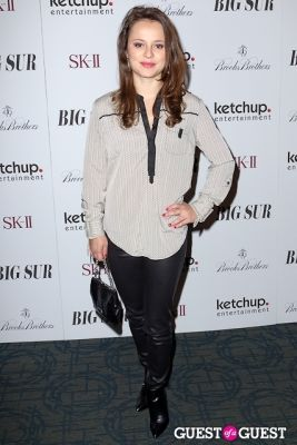 sasha cohen in BIG SUR New York Movie Premiere