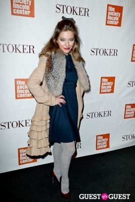 savannah wise in New York Special Screening of STOKER