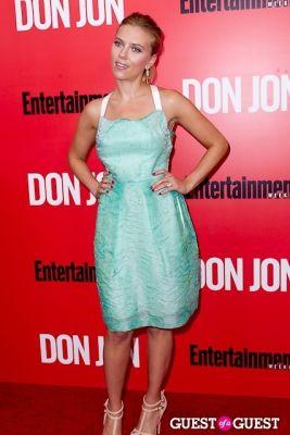 scarlett johansson in Don Jon Premiere