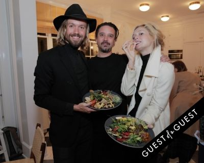 greg arnold in CAP Beauty + Jenni Kayne Dinner