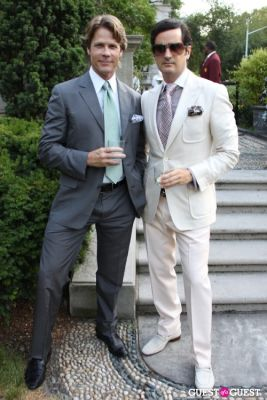 scott mcbee in The Frick Collection's Summer Garden Party