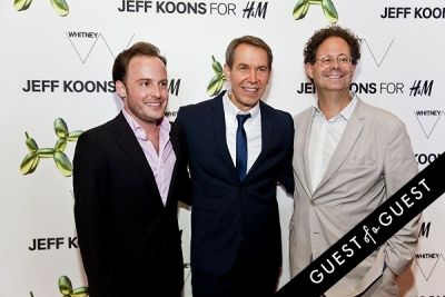 scott rothkopf in Jeff Koons for H&M Launch Party