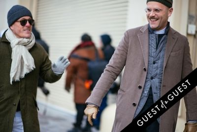 angelo flaccavento in NYFW Street Style Day 5