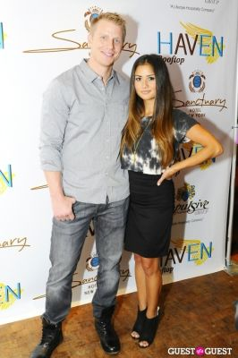 catherine giudici in Haven Rooftop ONE Year Anniversary