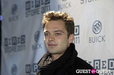 sebastian stan in 2011 Wired Store Opening Night Launch Party