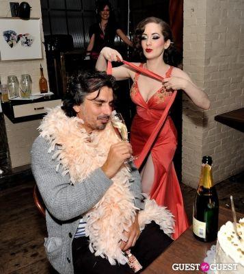 selectress iriela in Artan Gjoni Birthday Celebration at Lil Charlies