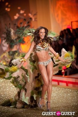 selita ebanks in Victoria's Secret Fashion Show 2010