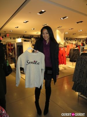 serena goh in H&M x Isabel Marant Launch Party