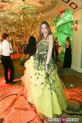 serena marron in Save Venice Enchanted Garden Ball