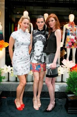 chessy wilson in Shanghai Tang Boutique Opening