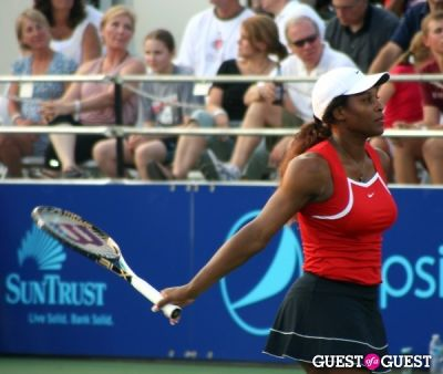 serena williams in Washington Kastles v. Boston Lobsters
