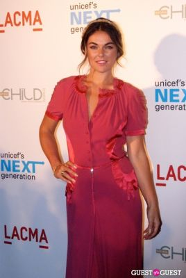 serinda swan in UNICEF Next Generation LA Launch Event