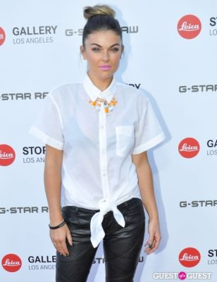 serinda swan in Leica Store Los Angeles: Grand Opening
