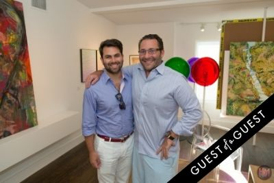 seth ginsbeog in Gallery Valentine, Mas Creative And Beach Magazine Present The Art Southampton Preview
