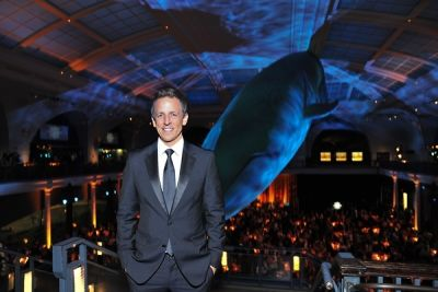 seth myers in American Museum of Natural History Gala 2014