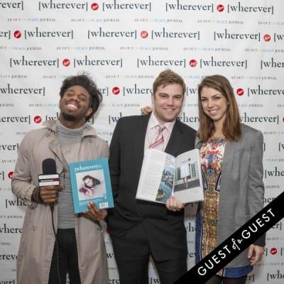seto mccoy in Wherever Magazine Launch