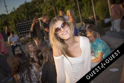shab harriri in The League Party at Surf Lodge Montauk