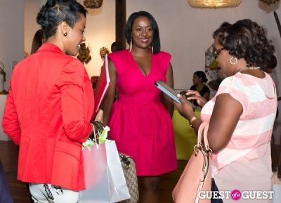 shana giles in Brave Chick B.E.A.M. Award Fashion and Beauty Brunch