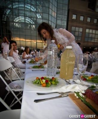 shana nadine in Diner En Blanc's New York Premiere