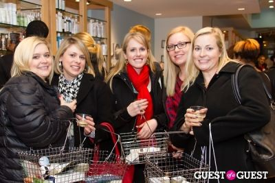 kasey sporck in Bluemercury Holiday Shopping Party