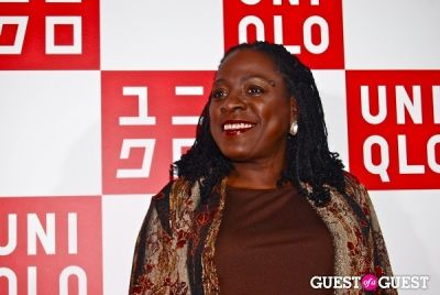 sharon jones in UNIQLO Global Flagship Opening