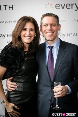sharon singer in Everyday Health IPO Party
