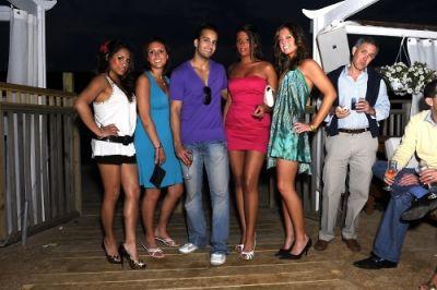 shawn sadri in Day & Night Beach Club Hamptons Magazine Party
