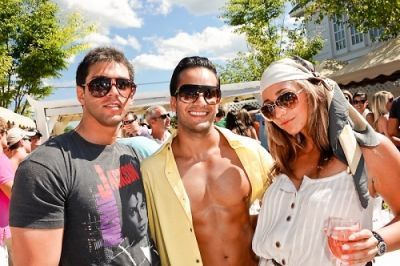 shawn sadri in Day and Night Beach Club 4th July Party