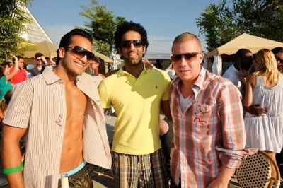 omeed malik in JOGO BEACH FASHION SHOW at DAY and NIGHT BEACH CLUB