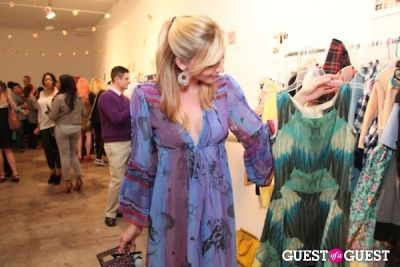 shayn baron in Audrey Grace Pop-Up Boutique