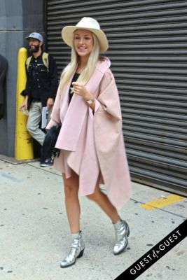 shea marie in NYFW Style From the Tents: Street Style Day 8