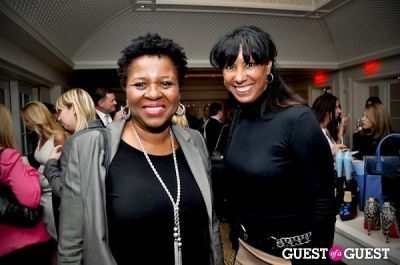gina harrison in Vogue and Net-A-Porter 12-12-12 Party