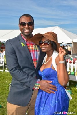 sheku riddle in Becky's Fund Gold Cup Tent 2013