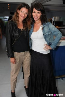 lori levine in Banzai Burger Grand Opening Party with Guest of a Guest