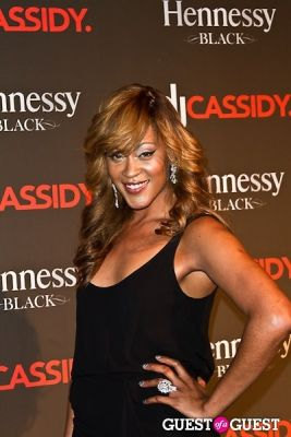 shontelle layne in DJ Cassidy's Birthday at Intrepid Air and Space.