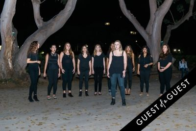signature a-cappella in CAP UCLA Benefit Model Mavericks 2015