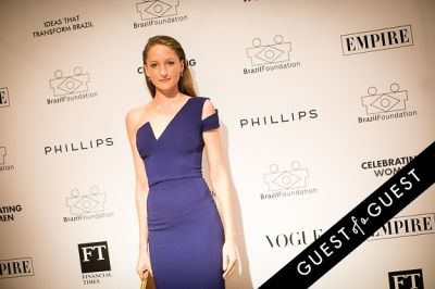 simone hanke in Brazil Foundation XII Gala Benefit Dinner NY 2014