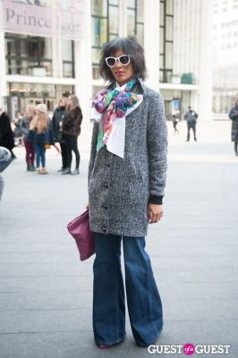 simone peart in NYC Fashion Week FW 14 Street Style Day 7