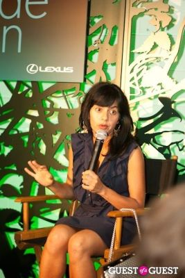 "simran sethi in Lexus ""Darker Side of Green"" Debates"