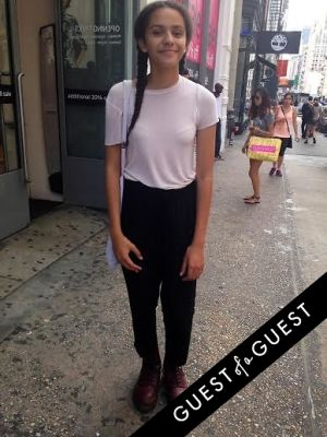 sofia chelo in Summer 2014 NYC Street Style