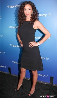 sofia milos in BlackBerry Z10 Launch
