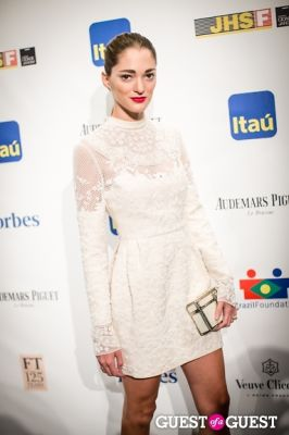 sofia sanchez in Brazil Foundation Gala at MoMa