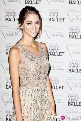 sofia sanchez in New York City Ballet Fall Gala Celebrates Valentino