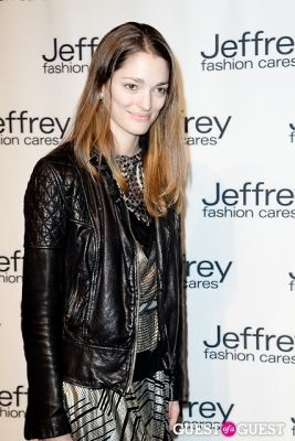 sofia sanchez in Jeffrey Fashion Cares 10th Anniversary Fundraiser